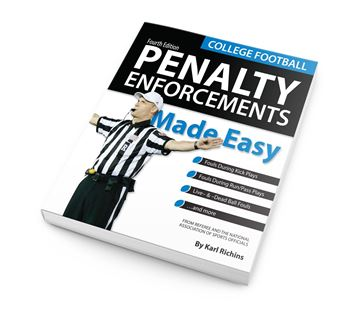 Picture of College Football Penalty Enforcements Made Easy