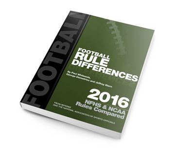 2016 Football Rules Differences
