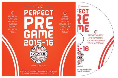 IAABO Perfect Pregame DVD