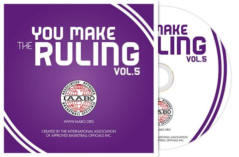 Picture of IAABO You Make The Ruling: Volume 5 DVD - CLEARANCE