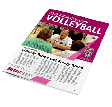 2016 NFHS Volleyball Preseason Guide