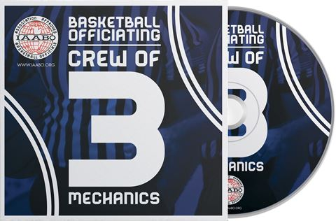 Picture of IAABO Basketball Mechanics Training: Crew of 3 DVD- 2nd edition