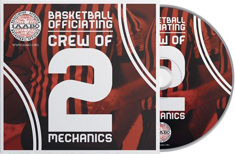 IAABO Basketball Mechanics Training: Crew Of 2 DVD - 2nd Edition