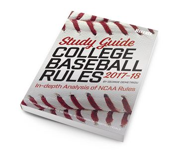 Study Guide College Baseball Rules