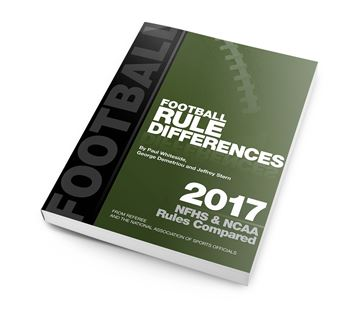 2017 Football Rules Differences