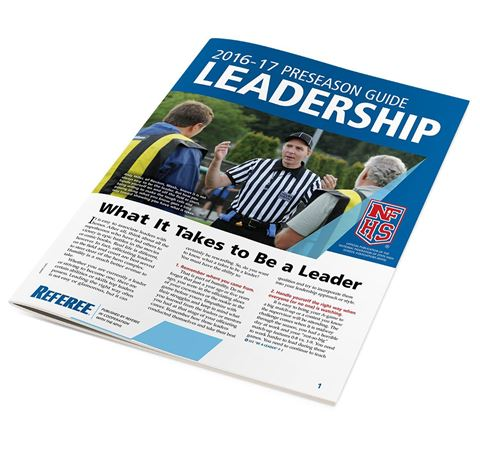 Picture of 2017-18 NFHS Leadership Officiating Preseason Guide