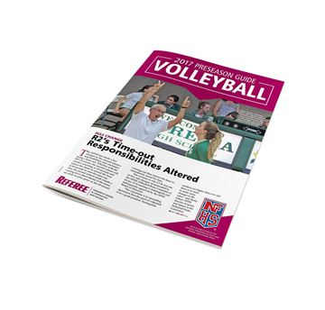 2017 NFHS Volleyball Preseason Guide