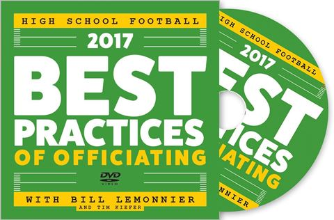 2017 Best Practices Of Officiating For High School Football DVD - Front