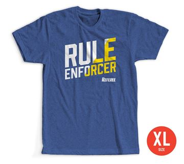 Size Extra Large: Rule Enforcer T-Shirt