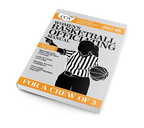 Picture of 2017-18 CCA Women's Basketball Officiating Manual
