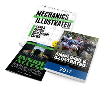 2017 Football 3 book Package