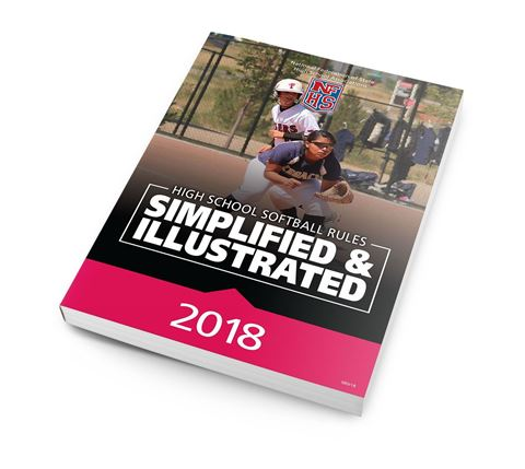 Picture of 2018 High School Softball Rules Simplified & Illustrated