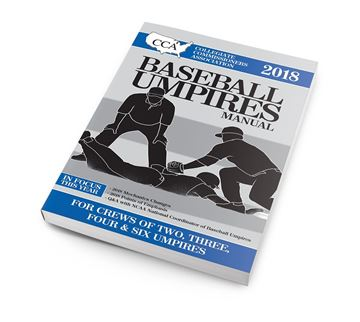 2018 CCA Baseball Umpires Manual