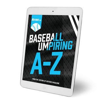 Baseball Umpiring A To Z - Digital Download