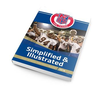 Referee training center football 2018 nfhs high school football simplified illustrated fandeluxe Image collections