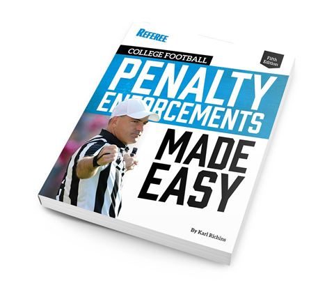 2018 College Football Penalty Enforcements Made Easy - 5th Edition