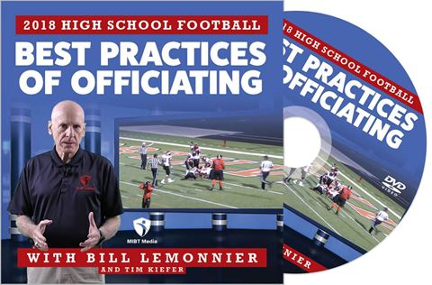 2018 Best Practices Of Officiating for High School Football DVD