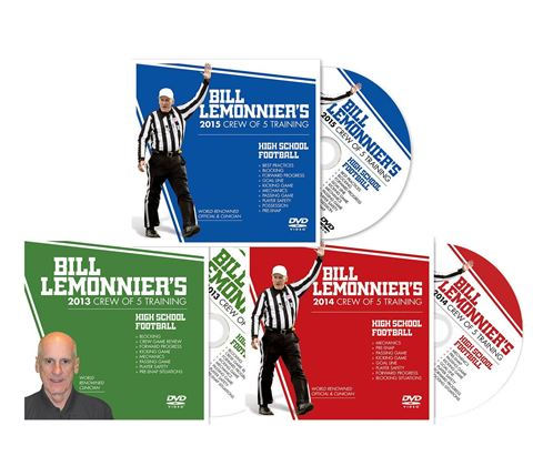 Bill LeMonnier's 2013-15 Crew Of 5 Training 3-DVD Set - CLEARANCE