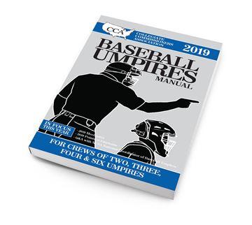 2019 CCA Baseball Umpires Manual