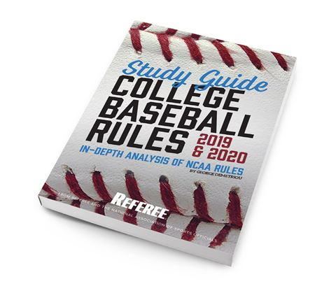 Study Guide College Baseball Rules 2019 & 2020