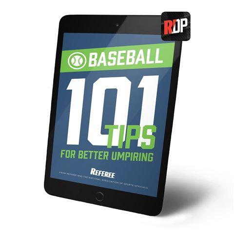 101 Tips For Better Baseball Umpiring - Digital Version