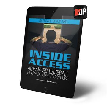 Inside Access Advanced Baseball Play Calling Techniques