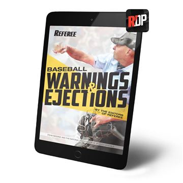 Baseball Warnings & Ejections
