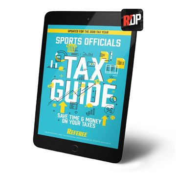 2018 Tax Guide for Sports Officials