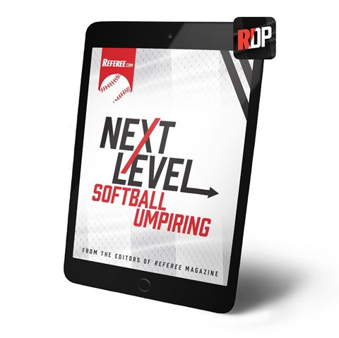 Next Level Softball Umpiring - Digital Version