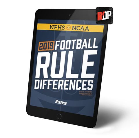2019 Football Rule Differences - Digital Version