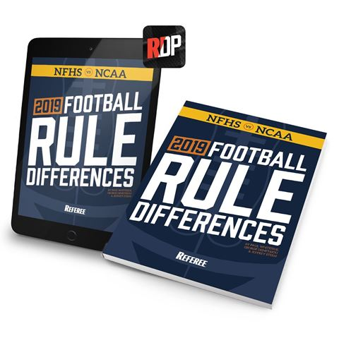 2019 Football Rule Differences- Print + Digital Combo