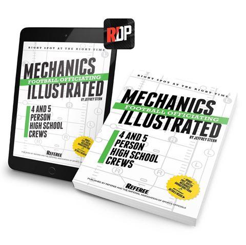 2018 High School Football Mechanics Illustrated- Print + Digital Combo