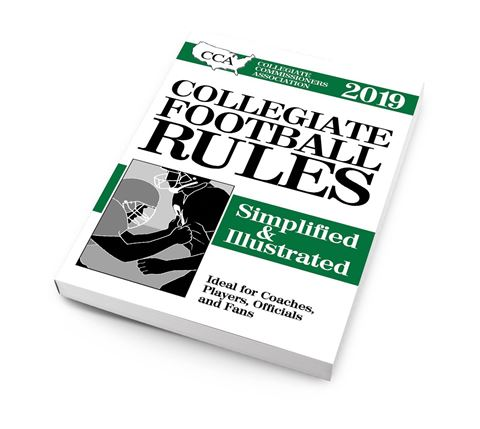 2019 CCA Collegiate Football Rules Simplified & Illustrated