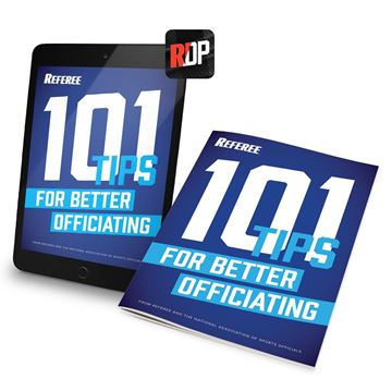 101 Tips For Better Officiating - Print + Digital Combo