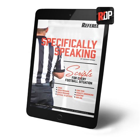 Specifically Speaking: Scripts For Every Football Situation - Digital Version