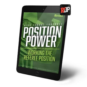 Position Power: Working the Referee Position- Digital Version