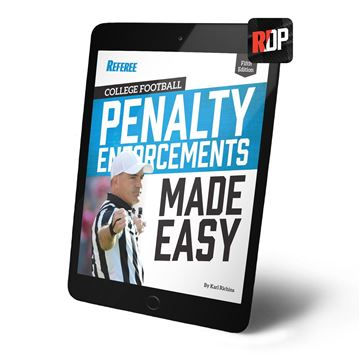 College Football Penalty Enforcements Made Easy- 5th edition- Digital Version