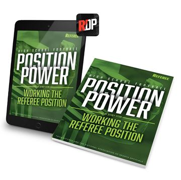 Position Power: Working The Referee Position - Print + Digital Combo