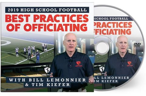 2019 Best Practices Of Officiating For High School Football DVD
