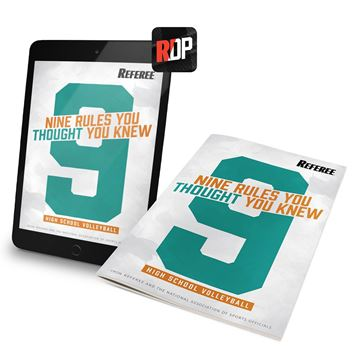 9 Rules You Thought You Knew For Volleyball- Print + Digital Combo