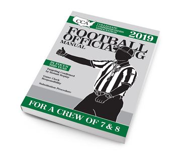 2019 CCA Crew of 7 & 8 College Football Officiating Manual