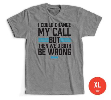 Size Extra Large: Change My Call T-shirt