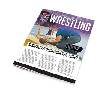 2019-20 NFHS Wrestling Preseason Guide