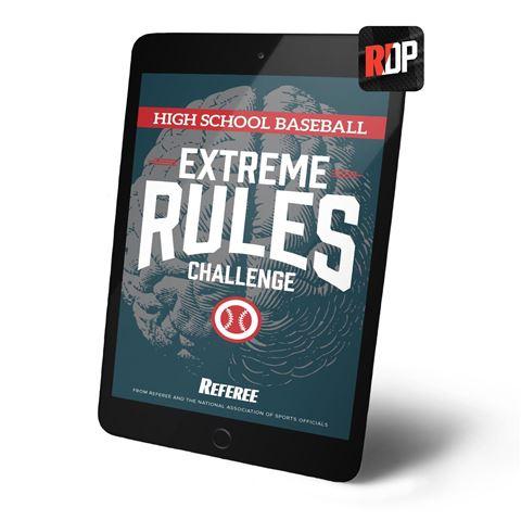 Extreme Rules Challenge High School Baseball - Digital Version