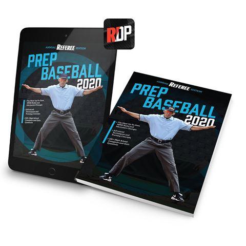 2020 Prep Baseball - Referee Annual Edition - Volume 3