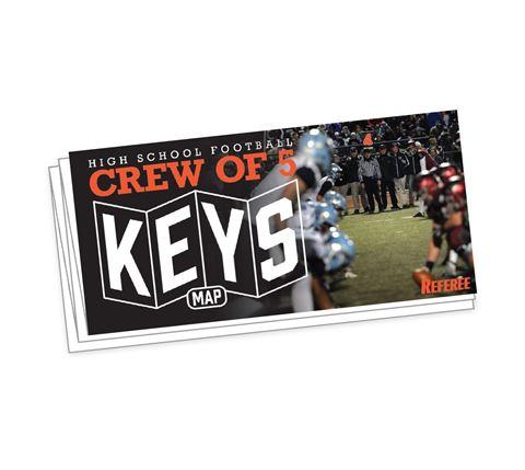 Crew Of 5 Keys Map