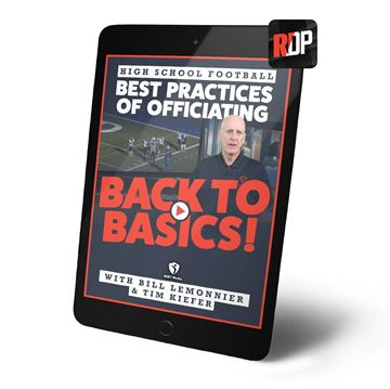 Best Practices Of Officiating for High School Football - Back to the Basics - RDP Download