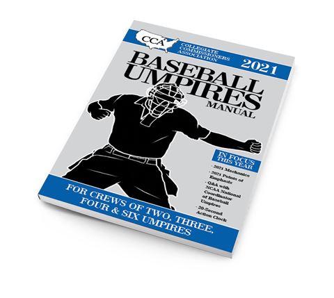 2021 CCA Baseball Umpires Manual