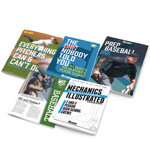 2021 BASEBALL UMPIRE TRAINING PACKAGE