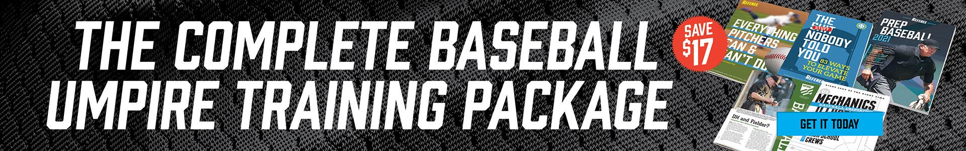 2021 Complete Baseball Training Package